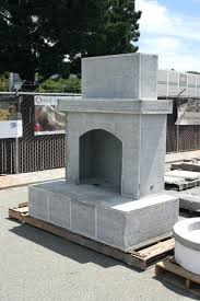 pre fab fireplaces prefab outdoor fireplace cost