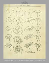Maybe you can do it with a white board marker too? How To Draw Flowers And Turn These Drawings Into Really Cool Wall Art Craft Mart