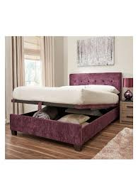 Next Furniture Bedroom Rockwell Lift Up Storage Bed Silver Next London Flat Ideas
