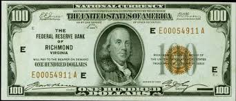 Old One Hundred Dollar Bills Values And Pricing Sell Old