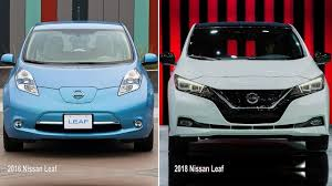 2018 nissan electric car. unique nissan the outgoing 20112017 nissan leaf left versus the 2018 model most will  find new more appealing unless your alltime favorite movie is  with nissan electric car i