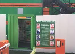 msite biometric construction site access control workforce management system