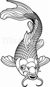 Small Picture Koi fish kite template used for kids craft project For smaller