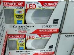 costco led lamp led lamp led porch light the electric led 6 inch retrofit kit with costco led lamp