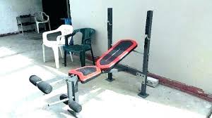 Weider Body Works Pro Chart Weider Exercise Bench Weight Bench Weider Weight Bench Combo