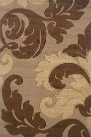 linon corfu tan brown area rug