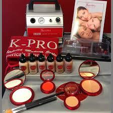 khuraira cosmetics k pro airbrush makeup kit 2