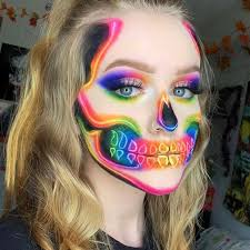 43 cool skeleton makeup ideas to try