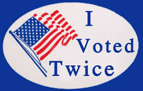 Image result for vote early and often photos