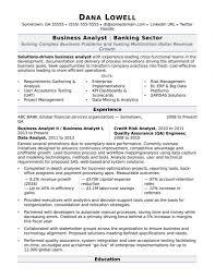 Banking Resume Examples Venturecapitalupdate Com