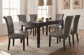 coaster newbridge 7 piece dining table chair set michael s furniture warehouse dining 7 or more piece sets