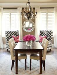 kinda like the leather dining chairs and dark table dining table redo idea