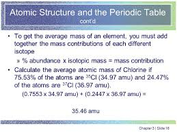 Chapter Three Atomic Structure and the Periodic Table. - ppt download