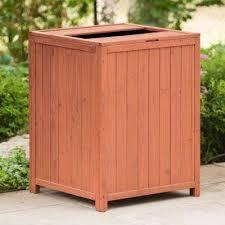 patio trash receptacle