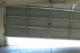 garage door chain off trackGarage Elegant garage door track ideas Garage Door Tracks For