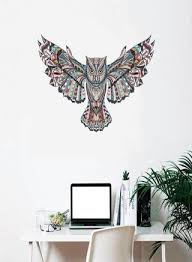 generic 45x60cm removable colorful owl