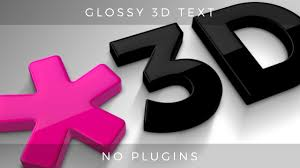 3d text and logo creator for after effects