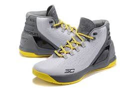 under armour basketball shoes stephen curry 2017. under armour stephen curry 3 gray yellow basketball shoes 2017 u
