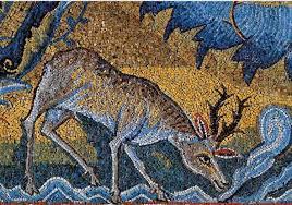 Risultati immagini per simboli paleocristiani fenice cervo