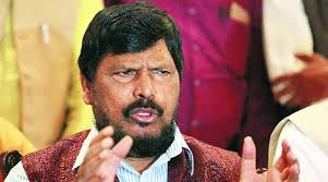 Union Minister Ramdas Athawale Heckled By Protesters During Speech