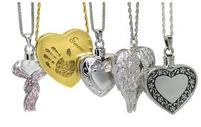 heart urn necklace cremation