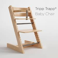 tripp trapp baby chair 3d model max 3ds fbx 1