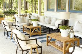 mixing wood tones in a room 15 ways to arrange your porch furniture