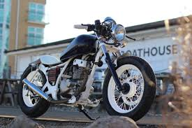 suzuki custom bobber 125cc custom cafe racer motorcycles for sale