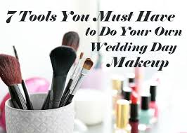 7 tools you must have to do your own makeup weddingfor1000
