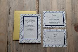real wedding amanda and andrew navy blue letterpress wedding Wedding Invitations Navy And Yellow want the amanda suite for your own wedding? check out the whole invitation suite here! navy blue and yellow wedding invitations