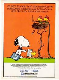 Met Life Quotes Mesmerizing Metropolitan Life Snoopy Woodstock Sold 48 DECADES