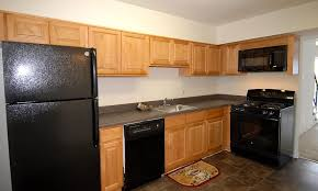 kitchen at cedar gardens and towers apartments townhomes in windsor mill