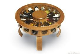 don vino wine small table with unique bottles storage bestpickr com cool unique coffee tables unusual ideas