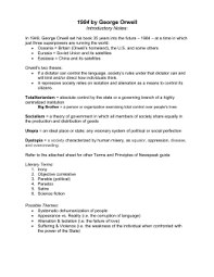 analysis essay doc areas for discussion of 1984