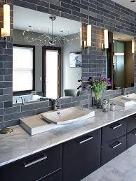 Best Modern Master Bathroom Ideas On Pinterest Double Vanity