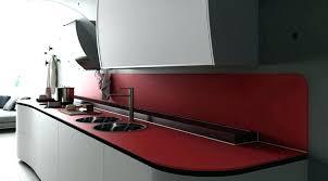Plan De Travail Cuisine Rouge Cuisine Lave Rouge 3 Plan De Travail