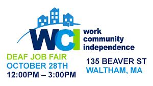 wci deaf job fair th  wci deaf job fair 28th 2015