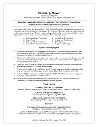 good job resume examples job specific resume templates