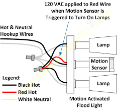 i show u how to wire up a pir sensor security light youtube wiring diagram for pir security light at Security Light Wiring Diagram