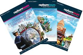 Brochures The New Concert Tour Brochures Are Here Rayburn Tours