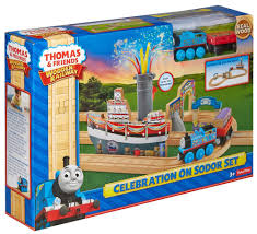 thomas friends wooden railway set