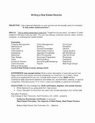Resume Objective Statement Resume Introduction Examples Lovely Good Resume Objective Example 83