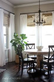 Crazy Wonderful: bamboo roman shades