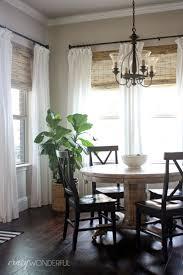 add bamboo roman shades white curtains \u2026   Pinteres\u2026