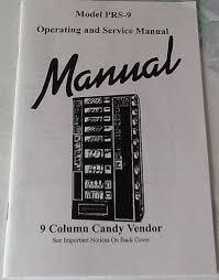 Antares Vending Machine Parts Adorable NEW ANTARES EDINA SNACK SODA VENDING MACHINE PRS48 MANUAL 48