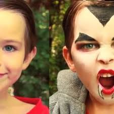 dracula vire makeup for kids