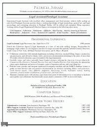 Best Paralegal Resume Sample Proyectoportal Com