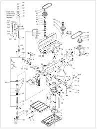 Buy wilton 2550 replacement tool parts wilton 2550 u003ca href rh toolpartspro drill press parts manual craftsman drill press schematic