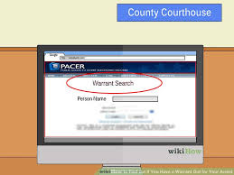 Find Out If You Have A Warrant For Your Arrest  VisiHowIf I Have A Bench Warrant In A Different State