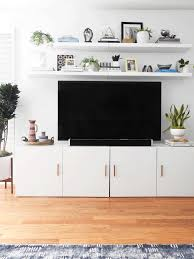 wall mounted shelves ikea best of ikea besta tv stand with two lack shelves above